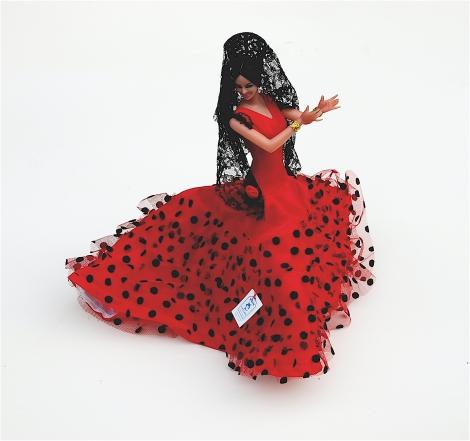 Retro Vintage En Originele Hebbedingen Spaanse Danseres