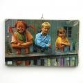 Schilderij Pippi, Tommy, Amika