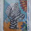 Borduurpakket Zaza Zebra