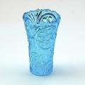 Plastic vaas blauw