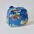 Kleine handtas blauw bloem